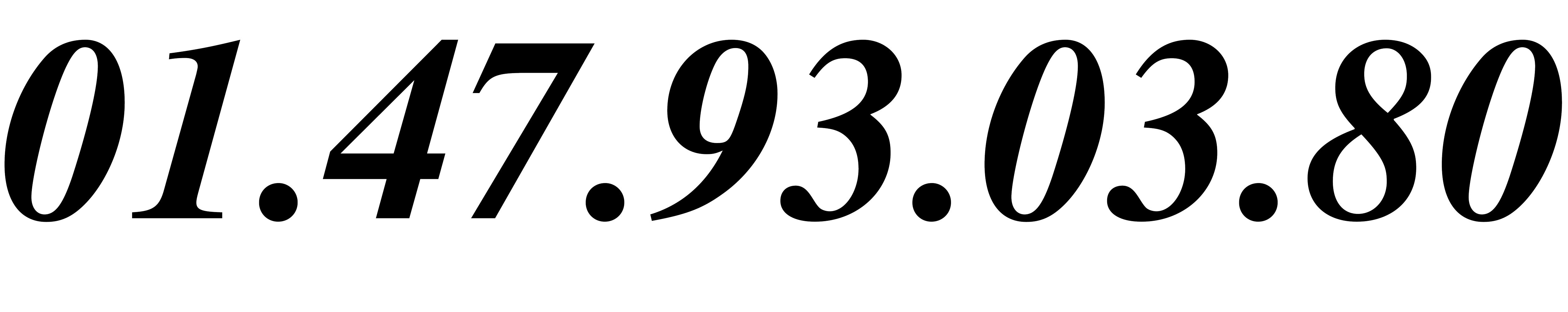 numéro de téléphone de Diminu-Tif